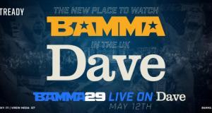 BAMMA 29 Dave