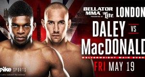 Bellator 179 Daley MacDonald