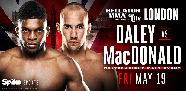 Bellator 179 Daley MacDonald