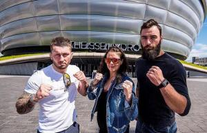 Joanne Calderwood Stevie Ray Paul Craig UFC Glasgow