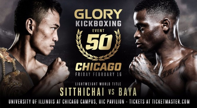 GLORY 50 SuperFight Series