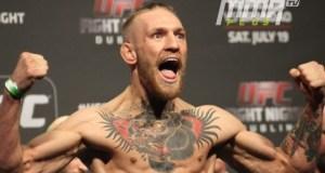 UFC 189: Official Weigh-in. McGregor
