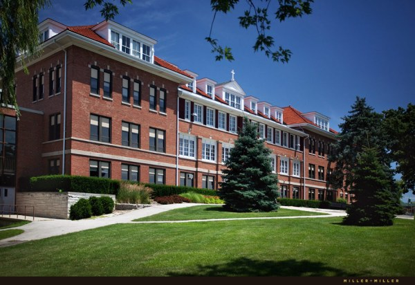 Catholic University Campus and Chapel Architectural ...