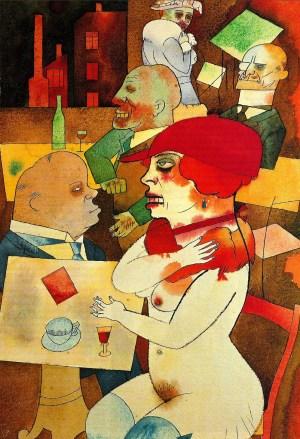 Ecce Homo, di George Grosz, 1923.