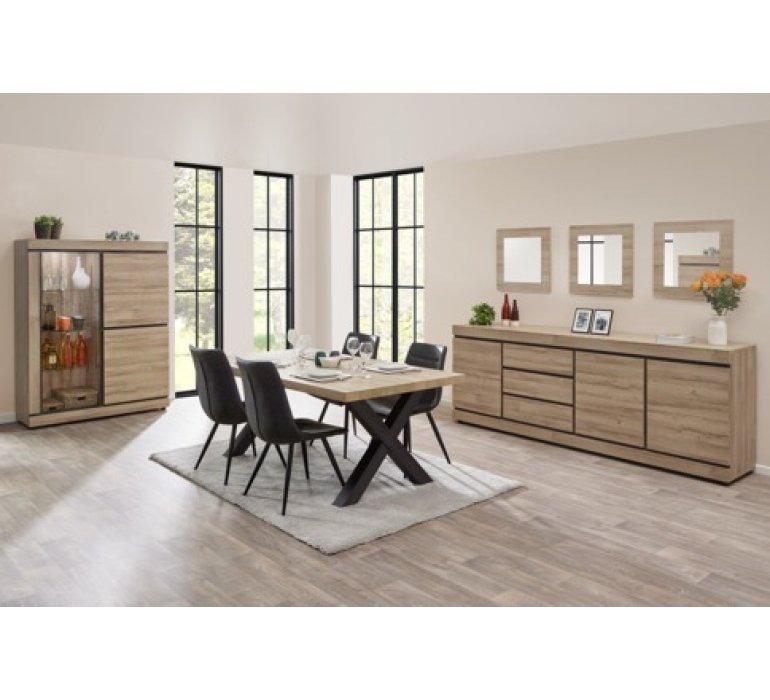 salle a manger style moderne bois clair juliette