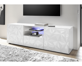 meuble tv design laque pour le salon