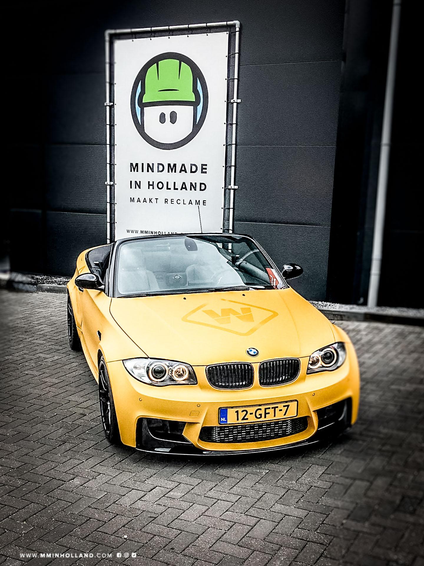 Carwrwap BMW Arlon Heatwave