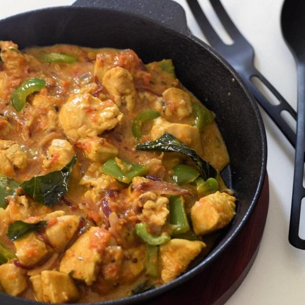 طريقة عمل دجاج جالفريزي من المطبخ الهندي