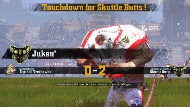 Juken scores 2nd Wk 8 TD