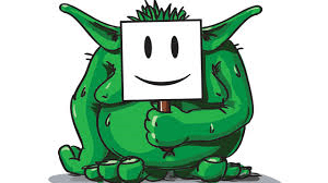 troll happy face