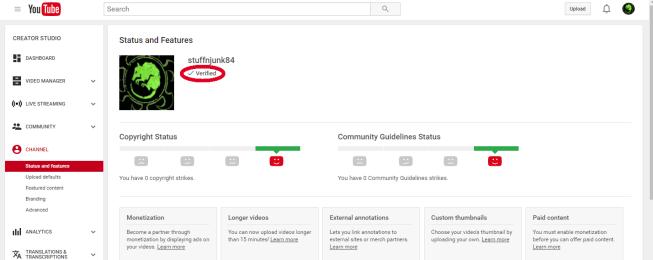 youtubeverify