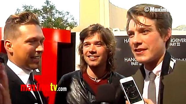 "Video: Hanson on New Album, Hanson Beer ""The HANGOVER Part III"" Los Angeles Premiere"