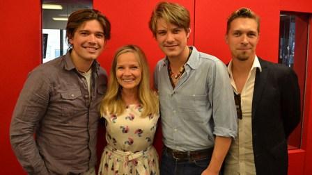 Hanson with Jo Good BBC Radio London