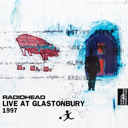 radiohead glasto 97 front 2