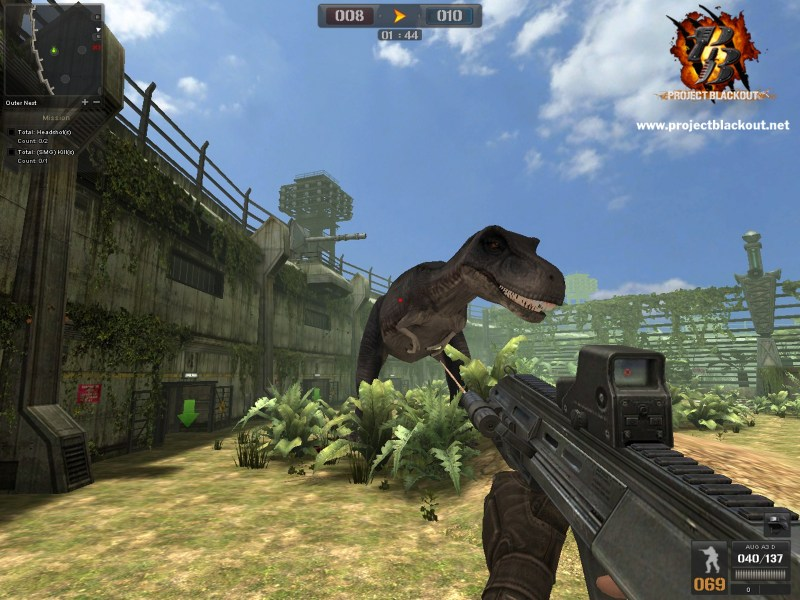 Project Blackout Gets Dinosaurs  Dino Mode    MMO Bomb Project Blackout Gets Dinosaurs  Dino Mode