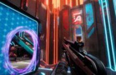 Os planos de Splitgate incluem PS5, Xbox One X   S, switch, celular, cross-play e tempo limite ocioso