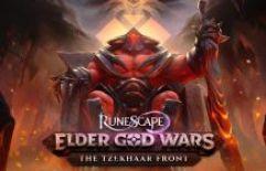 A Frente Tzekhaar é aberta nas Guerras dos Deuses Anciões de RuneScape