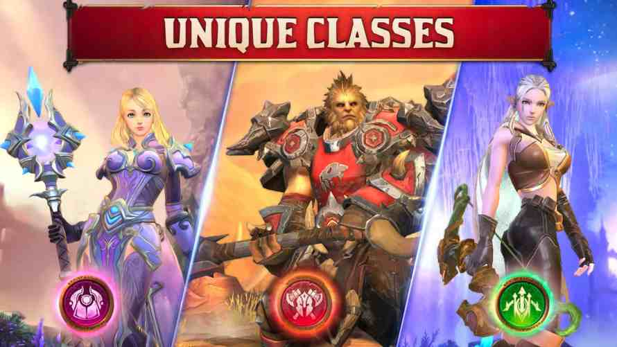 Crusaders of Light clases