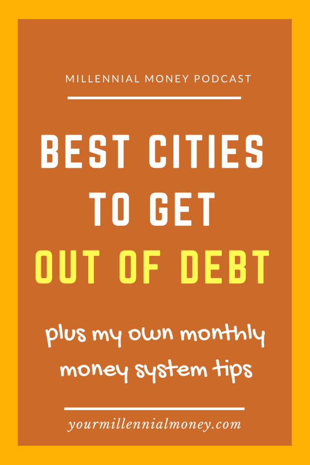 Having debt is a reality for many of us and in order to pay it off you've got to live someplace where you can enjoy a low-cost of living while still having fun.