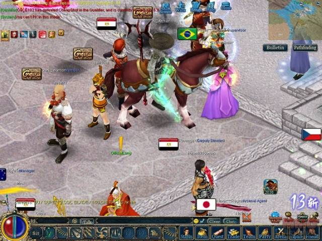 first impressions of conquer online's new class, the