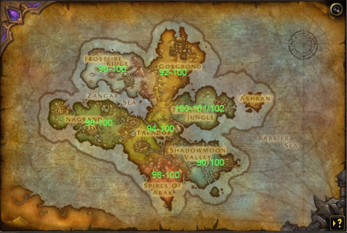 wow-leveling-guide-90-100-wod