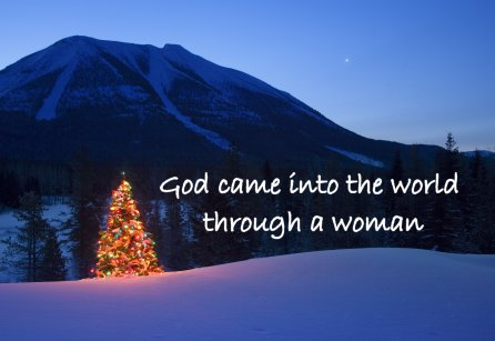 God came into the world through a woman, Women in Ministry blog by Cheryl Schatz