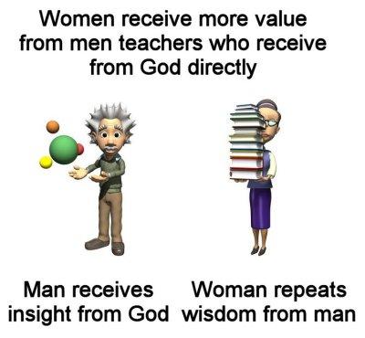 Complementarian value of women teachers from Women in Ministry by Cheryl Schatz