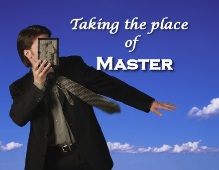 Taking the place of master by law on Women in Ministry blog by Cheryl Schatz
