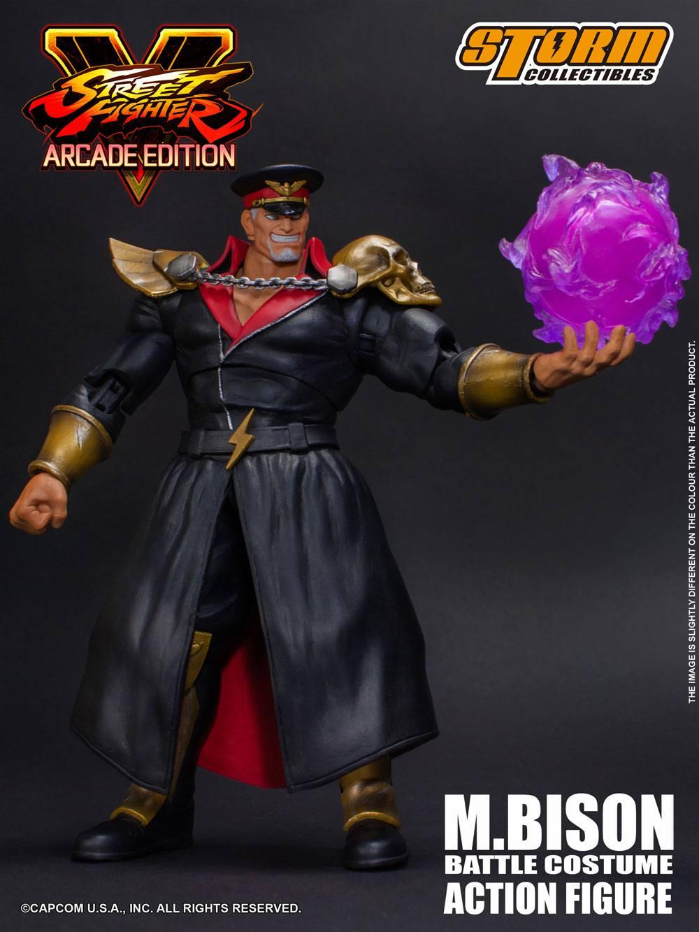 Resultado de imagen para Storm Collectibles Street Fighter V - M. Bison