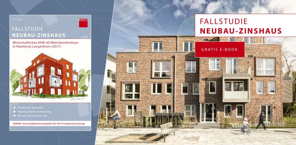 Fallstudie Neubau-Zinshaus als Gratis E-Book