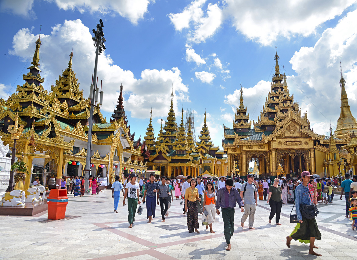 Shwedagon Pagoda Closed To Visitors For Year End Ceremony
