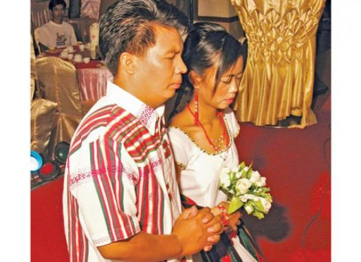 Traditional weddings remain popular for Chin | The Myanmar ...