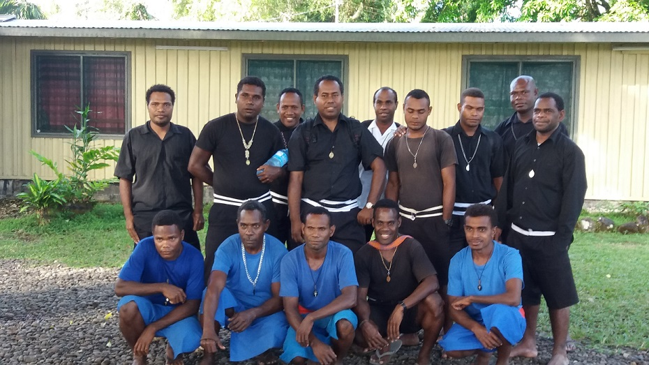 Melanesian Brothers and Novices at Tabalia