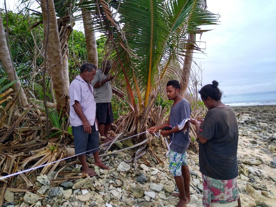 ACoM Environment Observatory: Measuring shoreline change on Fanalei Island