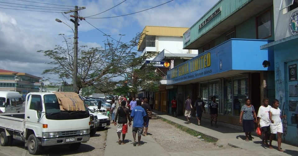 Solomon Islands, Honiara, Main Street