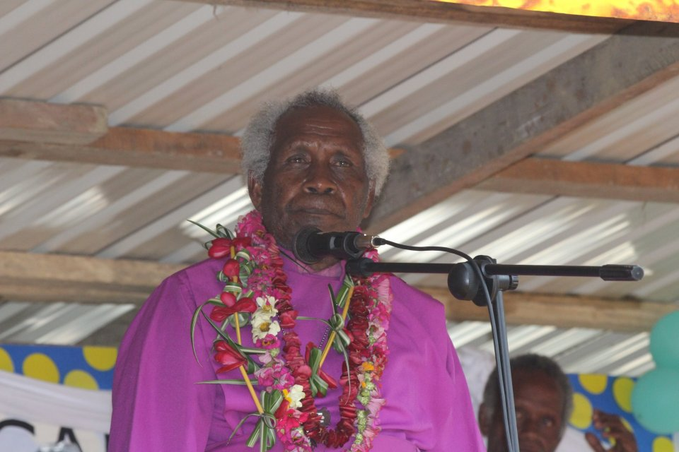 Bishop Nathan Tome