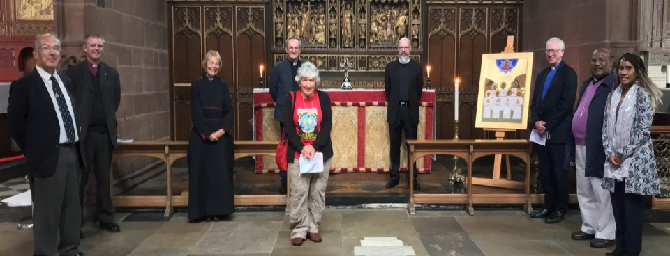 Icon Received At Chester Cathedral
