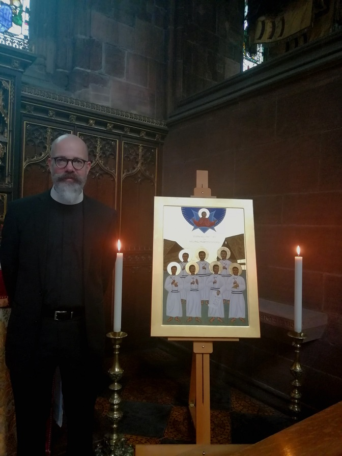 Icon at Chester Cathedral