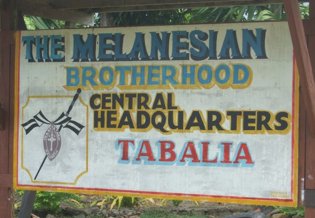 Melanesian Brotherhood - Sign