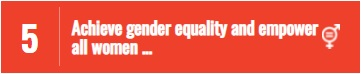 SDG5 - Achieve gender equality and empower all women and girls