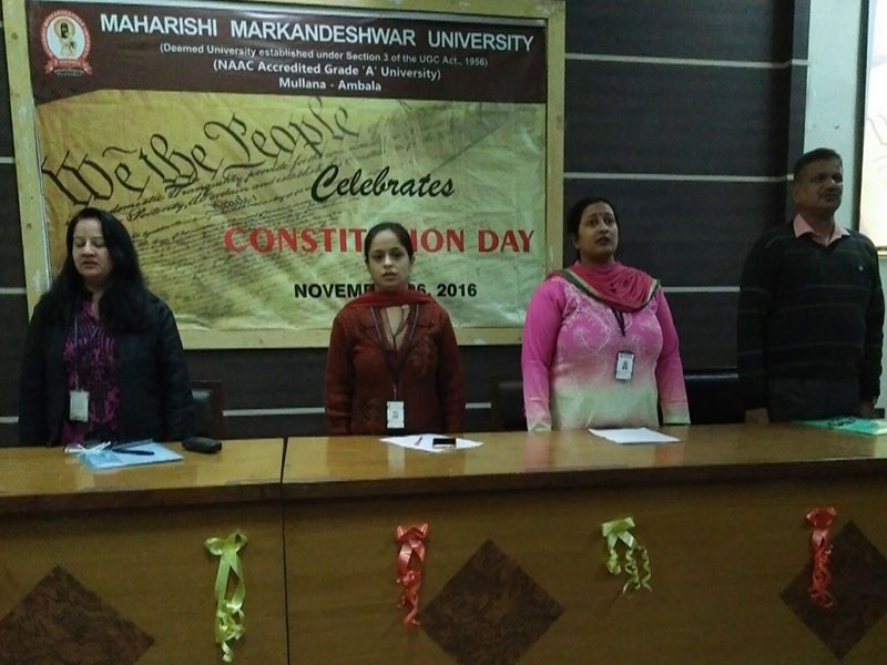 Constitutional Day Celebration