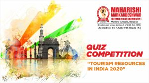 Tourism Resources of India Quiz Competition 2020