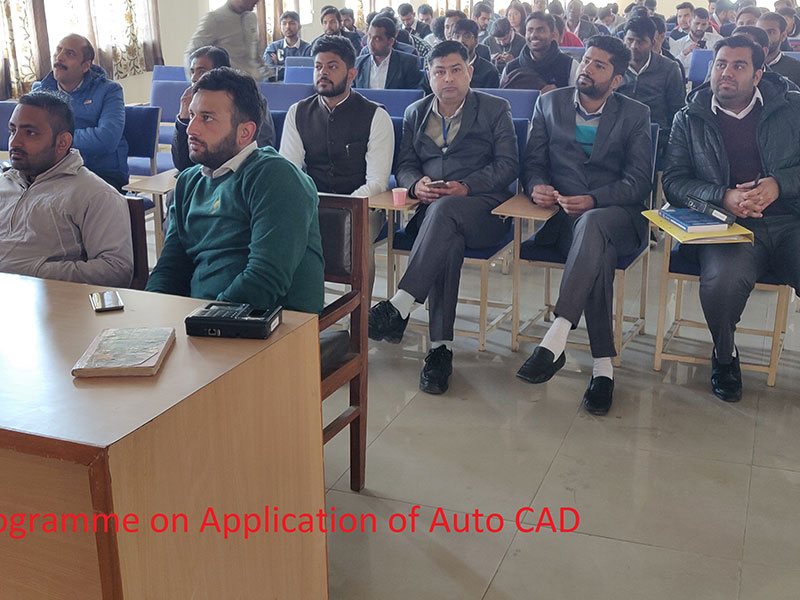 Application of Auto CAD in Engineering
