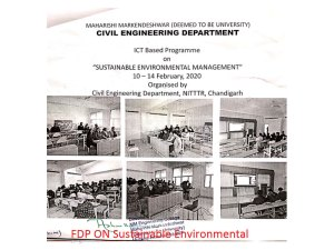 Sustainable Environmental Management