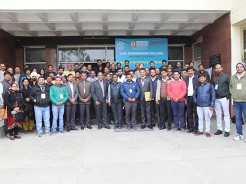 Two-day National Workshop on Introduction to Robotics (For Faculty)