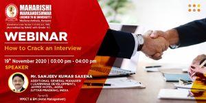 Webinar: How to Crack an Interview