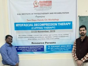 Hands on Workshop on Myofascial Decompression Therapy (Cupping Therapy)
