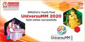 MM(DU)'s Youth Fest UniversuMM 2020 held online successfully