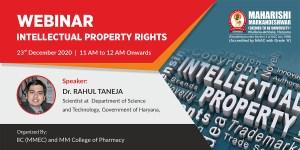 Webinar: Intellectual Property Rights