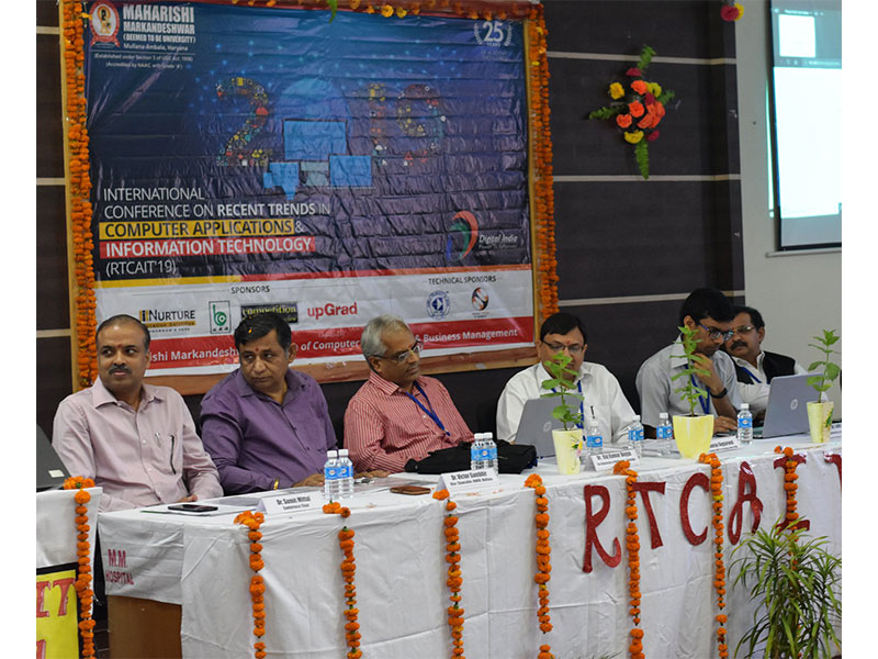Two-day international conference RTCAIT-2019